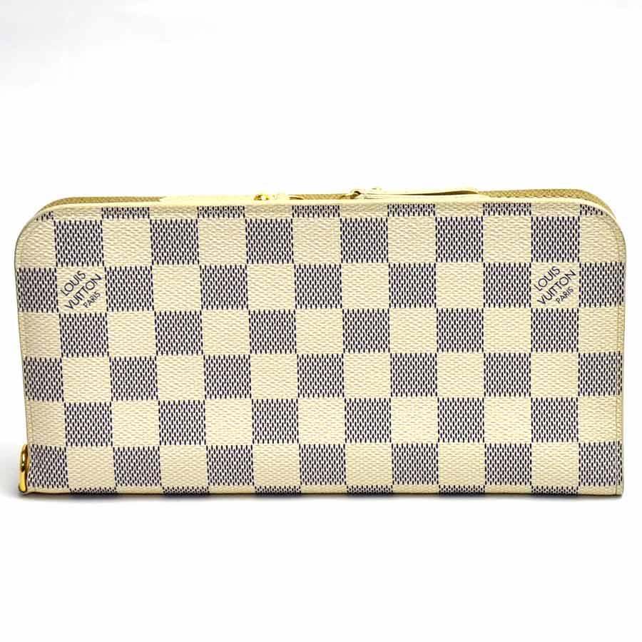 ルイヴィトン 財布 アズール(ホワイト) ダミエアズールキャンバス LOUIS VUITTON -TKY20356