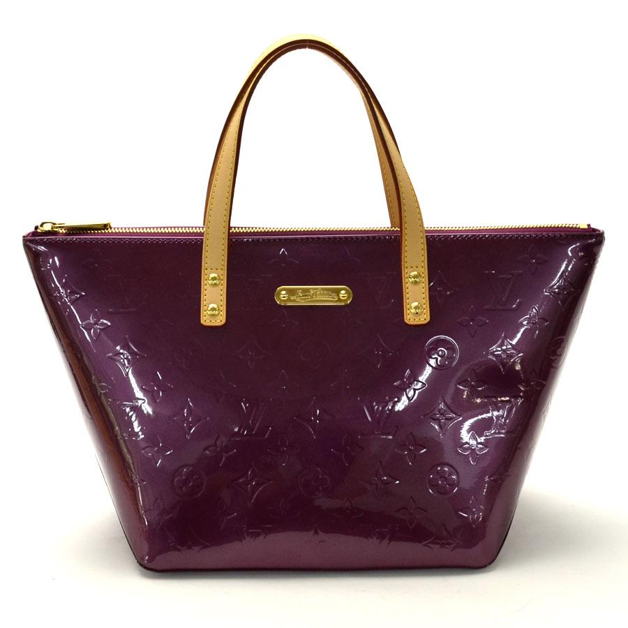 Auth Louis Vuitton Monogram Uñas Bellevue PM Bolso De Mano Charol ... fa1e2f7718328