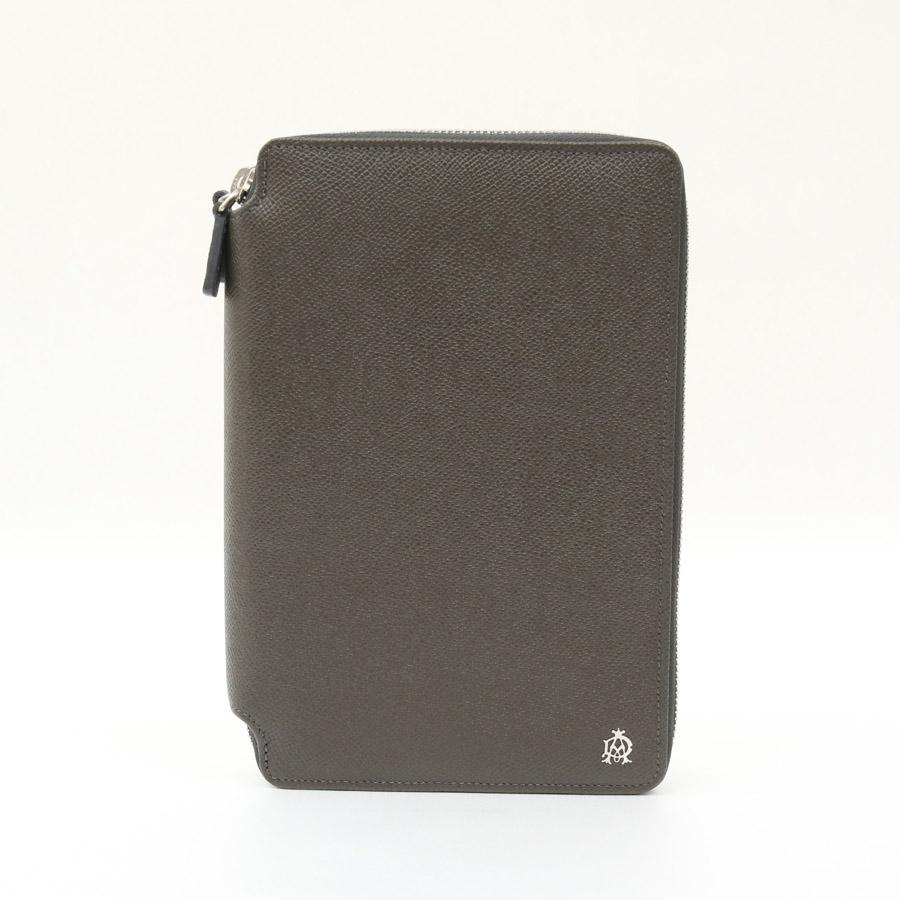 ダンヒル 財布 ブラウン系カーキ レザー DUNHILL -TKY33561