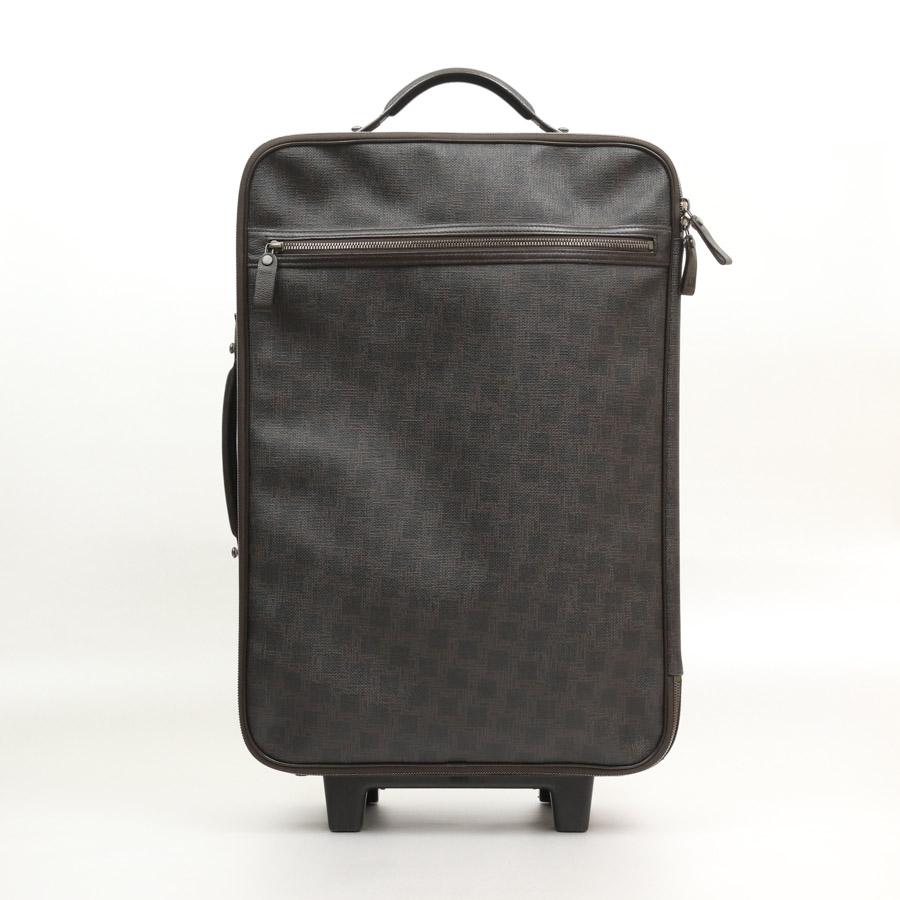 ダンヒル バッグ ダークブラウン PVCコーティングキャンバス×レザー DUNHILL -TKY33794