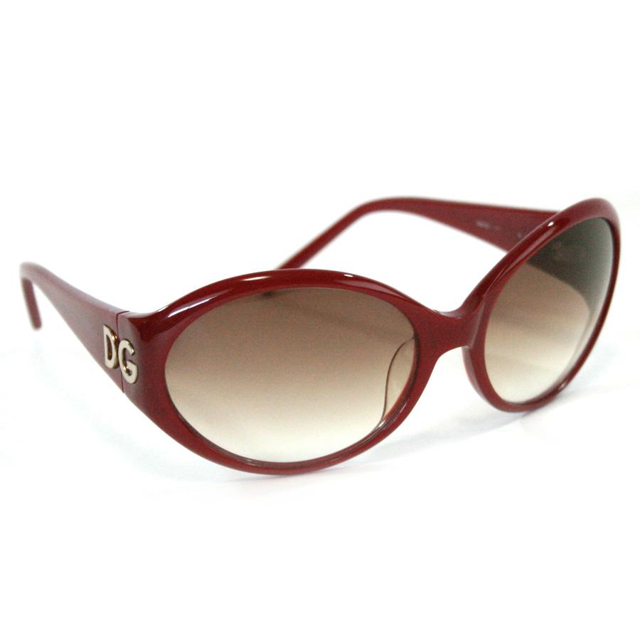 ドルチェ&ガッバーナ サングラス レンズ:ブラウングラデーション フレーム&テンプル:レッド プラスチック DOLCE&GABBANA -TKY37435
