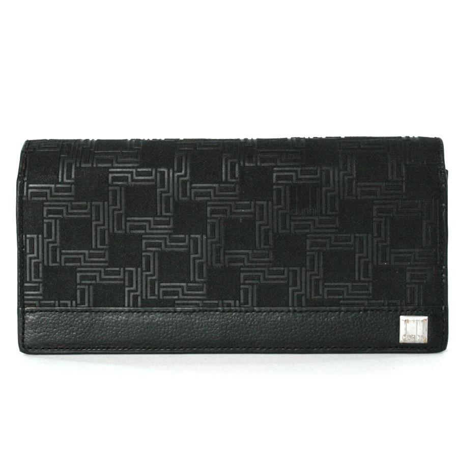 ダンヒル 財布 ブラック PVCコーティングキャンバス DUNHILL -TKY37981