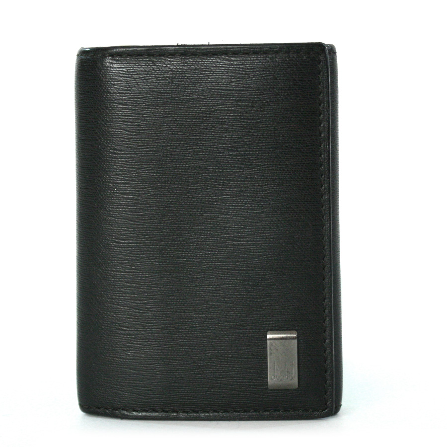 ダンヒル キーケース ブラック カーフ DUNHILL -TKY37986